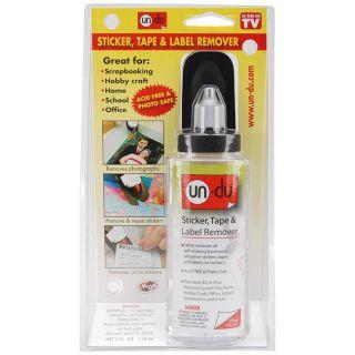 Un Du 4 oz Low VOC Adhesive Remover Un Du Adhesive Remover Low VOC 4