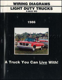 1986 GMC CK Wiring Diagram Pickup Truck Sierra Suburban Jimmy 1500