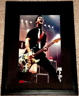 Green Day Billie Joe Armstrong Framed Live in Concert Portrait