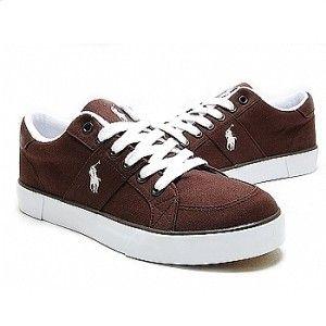 ralph lauren polo mens shoes harold dark brown us 8
