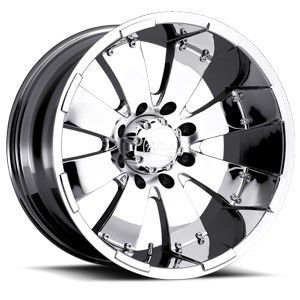 Ultra Mako Chrome Wheel Rim 8x6 5 Sierra 2500 3500 GMC C 2500