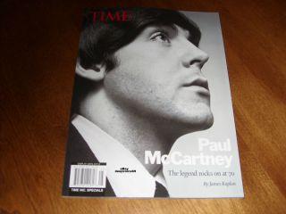 TIME magazine Paul McCartney Legend Rocks on at 70 NEW Beatles music