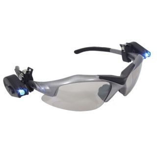 LED Light Clip on for Safety Glasses Hard Hats Rotating Clip