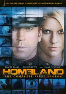 Homeland The Complete First Season DVD 2012 4 Disc Set