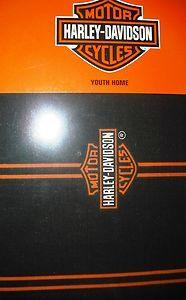 Harley Davidson Drapes or Valance 4 Bedrooms Bathrooms Bikers