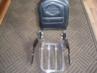 Harley Davidson Sportster detachable Sissy Bar / Luggage rack