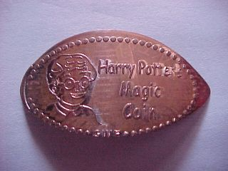 Harry Potters Magic Coin by G w E on Elongated Cent