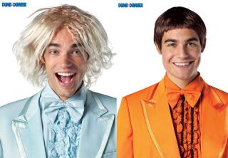 Dumb and Dumber Movie Harry or Lloyd Wig Costume Accessory Wigs