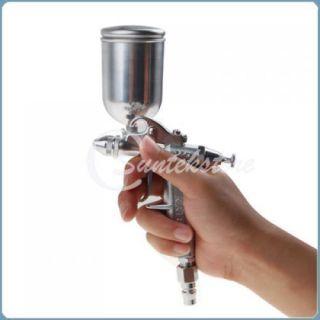 Gravity Feed HVLP Air Paint Spray Gun Autobody Sprayer