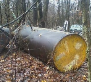 1000 Gallon Steel Fuel Tank