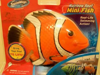 Rainbow Reef Mini Fish Bathtub Automatic Swimming Pool Summer Fun Kids