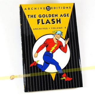 DC Archives The Golden Age Flash Vol 2 Hardcover HC New