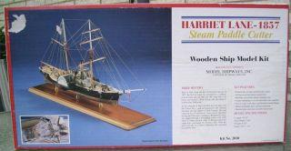 Harriet Lane 1857 Steam Paddle Cutter Model Kit by Model Shipways