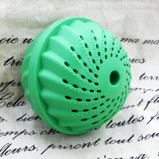 Green Eco Friendly Wash Ball Laundry Washing Balls Green Colour