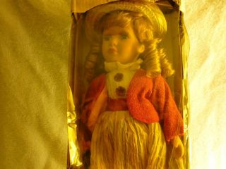 Goldenvale Collection 12 Bisque Porcelain Doll Jane Limited to 2000
