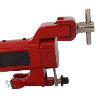 New Water Syringe Style Alloy Rotary Tattoo Machine Liner Shader Gun