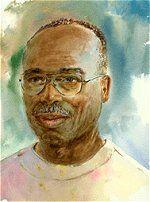 Herbie Rose Original Black Art Jamaica Island Boy Child