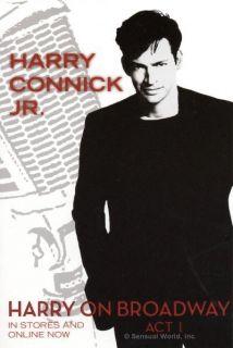 RARE Harry Connick Jr Harry on Broadway Music Postcard