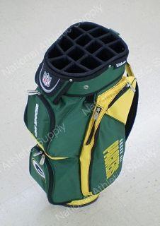 Wilson Green Bay Packers NFL Cart Golf Bag New