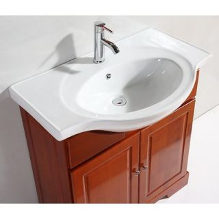 Legion Furniture 31.5 Single Bathroom Vanity Set with Mirror in