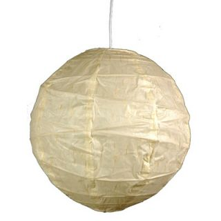 Oriental Furniture Maru Bamboo Shoji Pendant