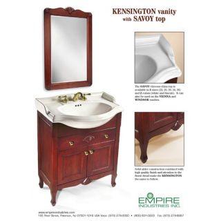 Empire Industries Doral Bathroom Vanity Mirror in Cognac