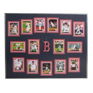 Topps MLB 2009 Trading Cards Framed Set  Boston Red Sox   T09BBBOSF