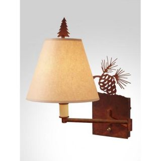 Kenroy Home Twigs 15 Swing Arm Wall Lamp in Bronze   30899BRZ
