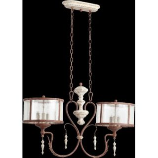 Quorum Salento 5 Light Drum Pendant   6306 5 70