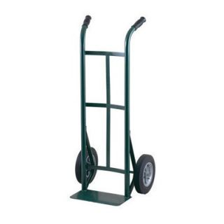 51T Series Dual Handle Steel Hand Truck With 10 Solid Rubber Wheels