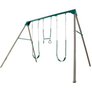 Lifetime 10 A Frame Swing Set