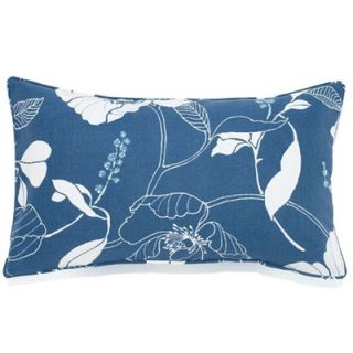 Jiti Pillows 12 Poppy Decorative Pillow in Blue   1220/OUT/PPY BLU