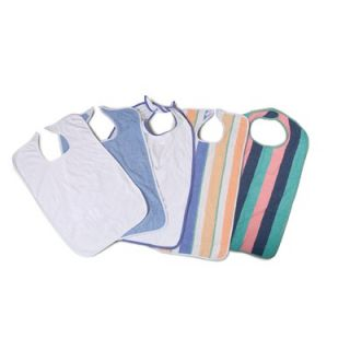 Medline Terry Cloth Clothing Protector (Box of 12)   MDT014100Z