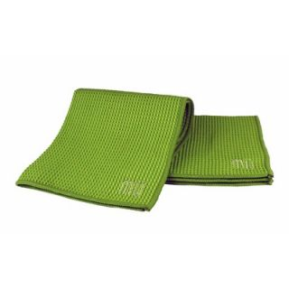 MU Kitchen MUmodern Waffle 12 x 12 Microfiber Dish Cloth in Grass
