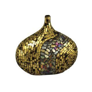 Dale Tiffany 13 Art Vase in Antique Gold