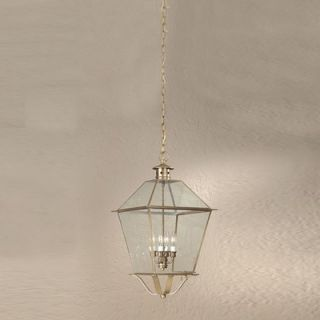 Troy Lighting Montgomery 23.75 x 14.25 Hanging Lantern with Clear