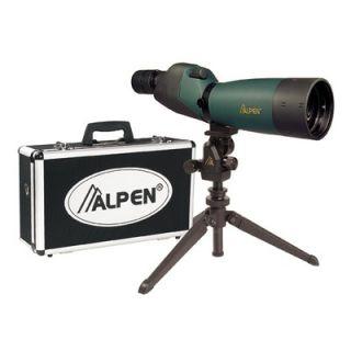 Alpen Outdoor 20 60x60 Waterproof Spotting Scope Kit with 45 Degree