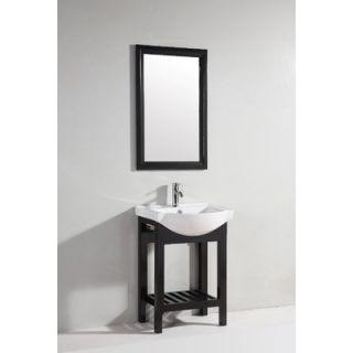 Legion Furniture 23.5 Single Bathroom Vanity Set with Mirror in