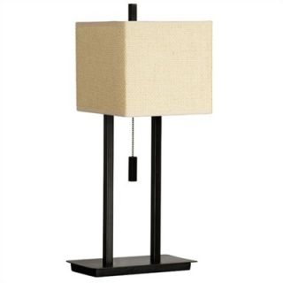 Kenroy Home Emilio 21 Accent Lamp in Tan