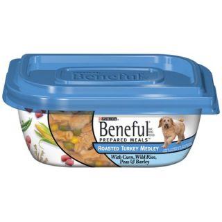 Beneful Prepared Meals Roased urkey Medley We Dog Food (10 oz, case
