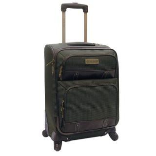 Oleg Cassini Bill Blass Harbor 27 Expandable Spinner Suitcase