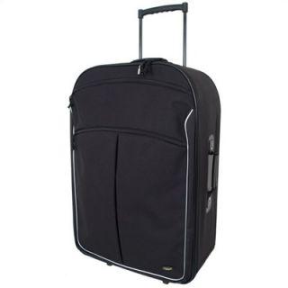 Mercury Luggage Coronado Black 30 Wheeled Upright Suitcase   3230