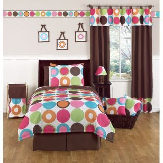 Sweet Jojo Designs Deco Dot 3 Piece Full / Queen Bedding Set