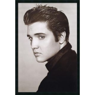 Amanti Art Elvis (Loving You) Framed Print Art   37.66 x 25.66