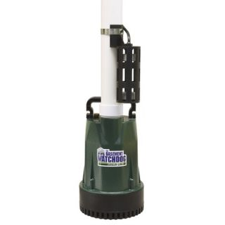 Basement Watchdog 0.33 HP Submersible Sump Pump