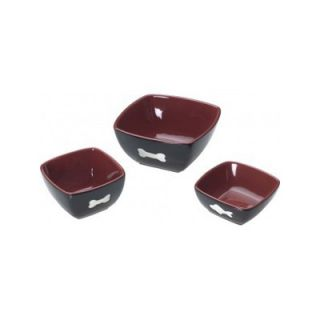 Ethical Pet Vista Dog Dish in Red/Black   6831/32