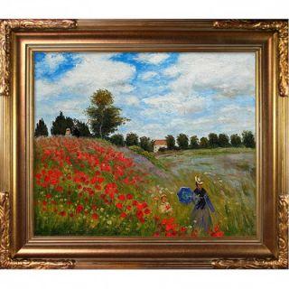 Art by Claude Monet Impressionism   35 X 31 in Florentine Gold Frame