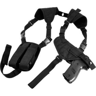 NcSTAR Ambidextrous Horizontal Shoulder Holster in Black