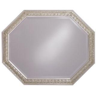 Howard Elliott 33 Crete Mirror with Silver Finish