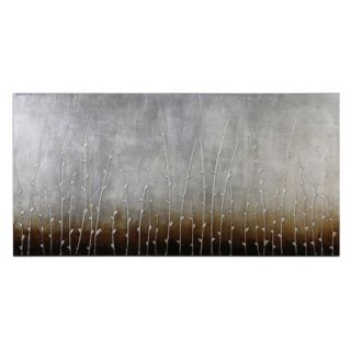 Uttermost Sterling Branches Canvas Wall Art By Eve   30 x 60